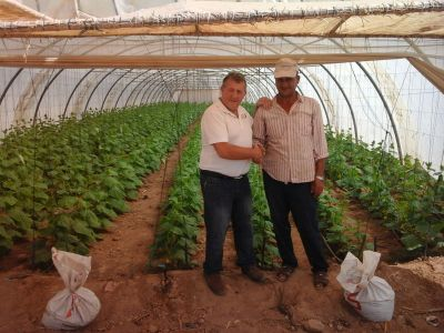Sahara Forest Project is settling in Jordan. Stephen Clarkson, Head Grower of The Sahara Forest Project, is meeting with local farmers, organizations, land owners and suppliers.