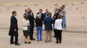 SFP launched a new facility in the Jordanian desert